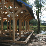massive timber frame construction
